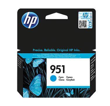 Ink HP 951 cyan   Officejet Pro 8610/8620