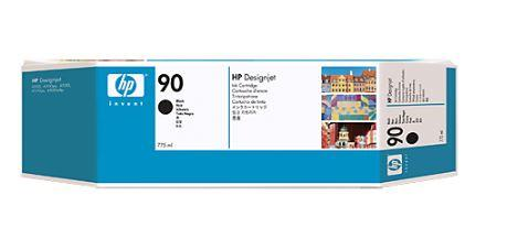 Inkoust HP 90 black 3pack | 3x775ml | designjet4000/4500/mfp