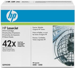 Toner HP black dual pack | 2x20000str | LJ4250/4350