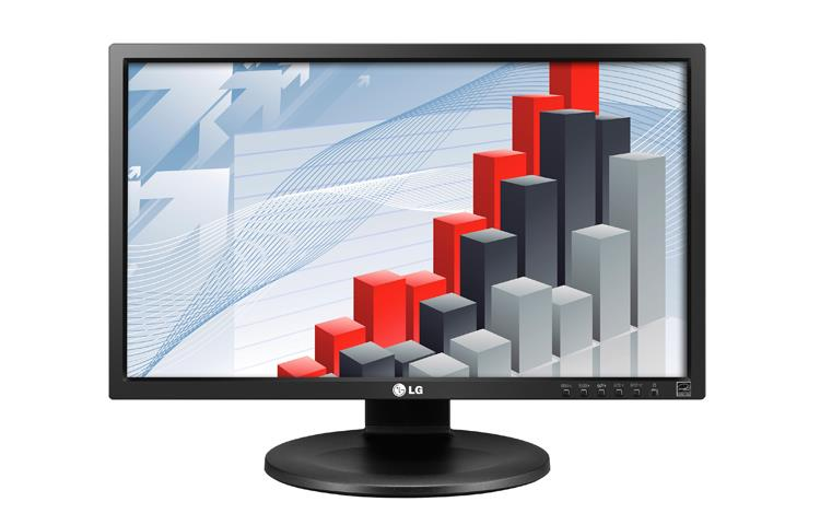 LG Monitor 24MB35PU-B 23.8'' IPS LED FHD 5ms DVI USB pivot speakers