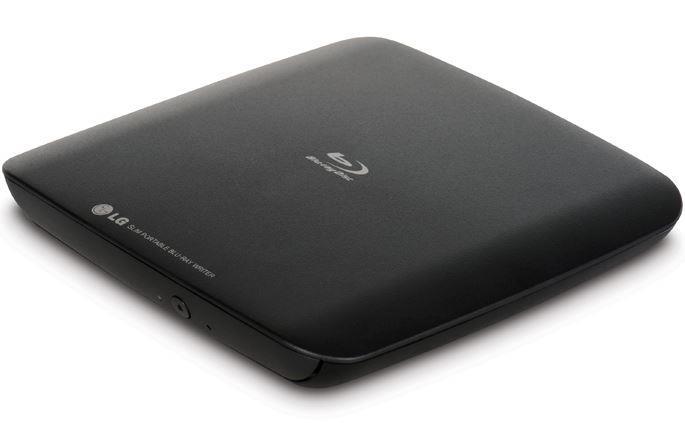 LG Blu-ray externí vypalovačka BP40NB30, BDXL, černá