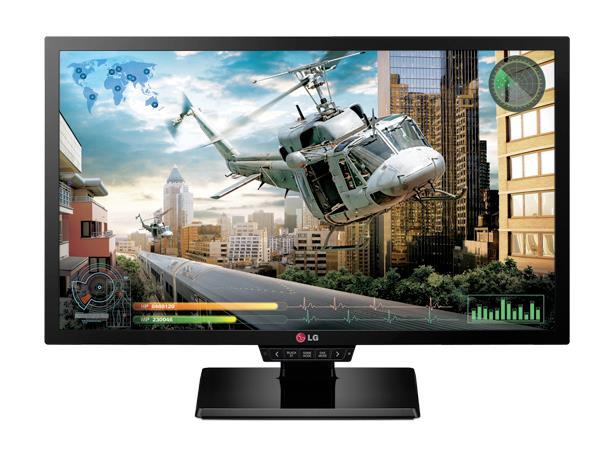 LG Monitor LCD 24GM77-B 24'' TN, FHD, 1ms, D-Sub, DVI-D, DP, 2xHDMI, USB, black