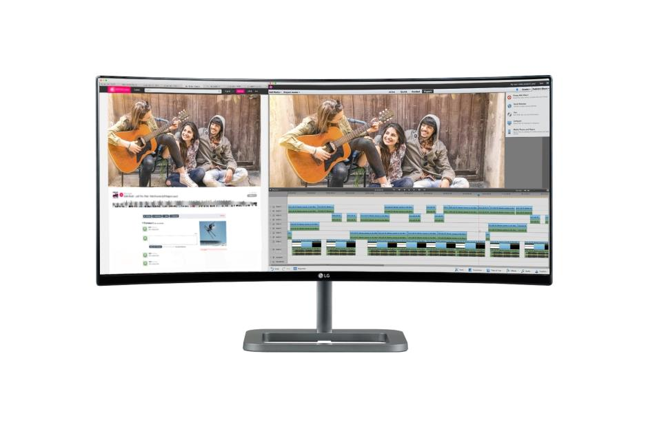 Monitor LG 34UC87C-B 34'' IPS 5ms, QHD, HDMI, DP, Curved UltraWide
