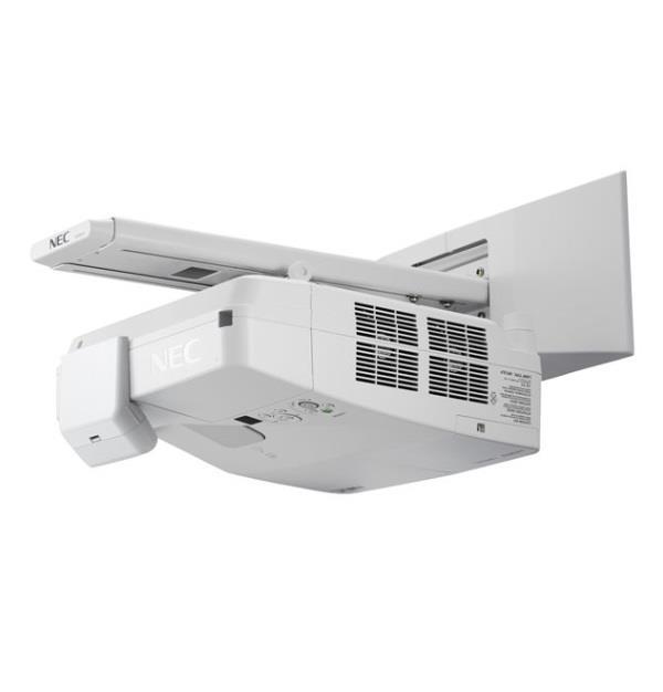 Projektor NEC UM301Wi (LCD, XGA, 3000AL vč. montáže na stěnu +interaktivní péro)