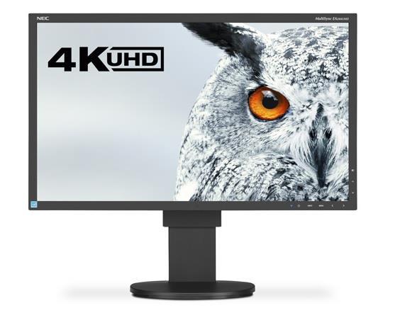 NEC LCD MultiSync EA244UHD 23.8'' LED, IPS, 4K UHD/2xDVI/2xDP, 2xHDMI bk