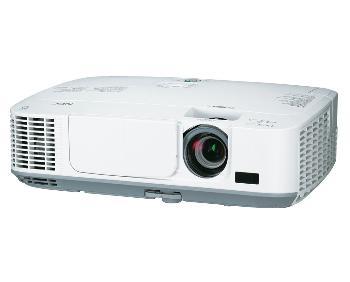 Projektor NEC M311W; LCD; WXGA (1280x800); 3100 ANSI; 3000:1; HDMI; RJ45