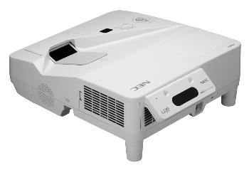 Projektor NEC UM280W with wall mount