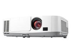 Projektor NEC P451W; LCD; WXGA (1280x800); 4500 ANSI; 4000:1; HDMI; RJ45