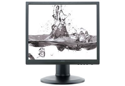 AOC LCD e960Prda 19'', LED, 5ms, DC 20mil., DVI, repro, 1280x1024, č