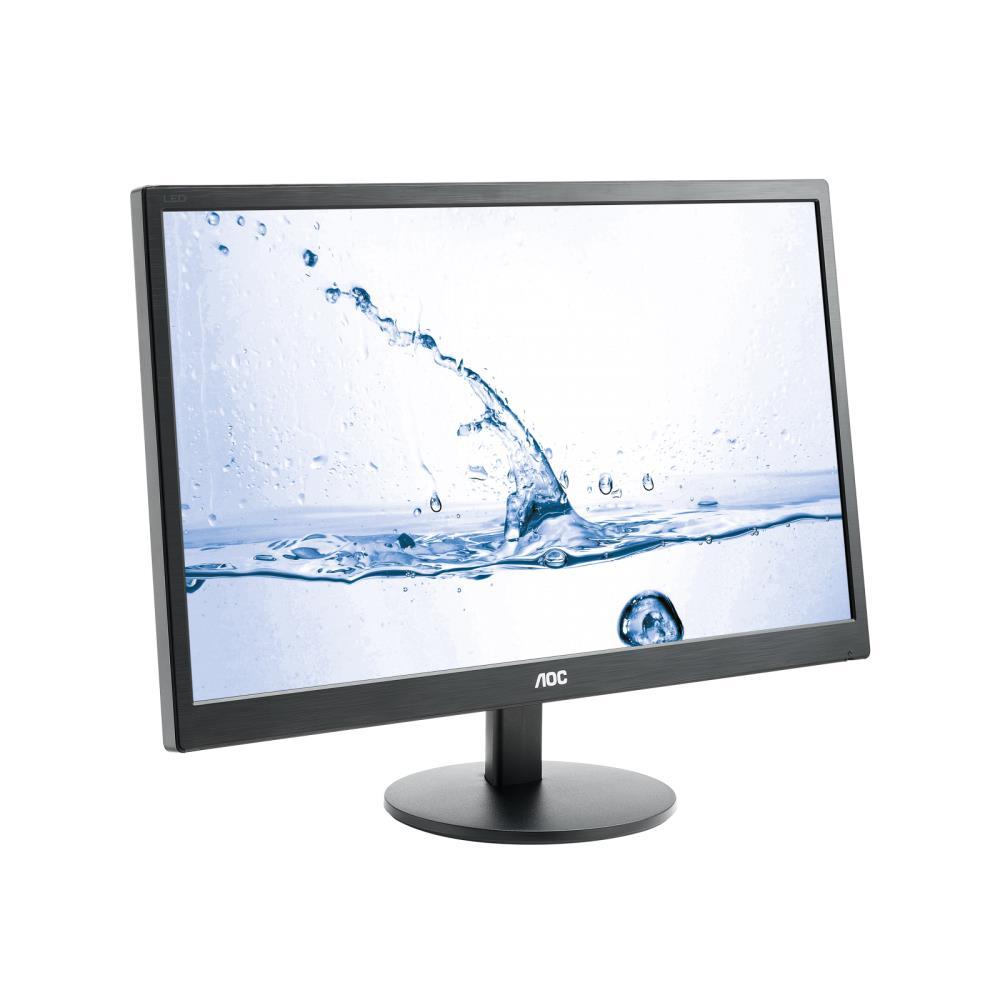 AOC LCD M2470SWH LED, 23.6'' MVA FHD, 1ms, D-Sub, 2xHDMI, černý