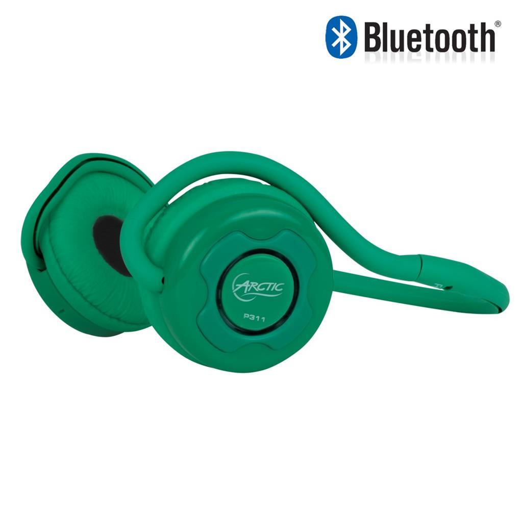 Bezdrátová sluchátka Arctic Sound P311 zelená, bluetooth