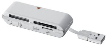 I-BOX Čtečka karet USB, bílá