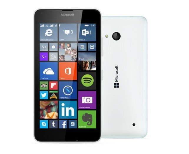 Microsoft Lumia 640 White Dual Sim