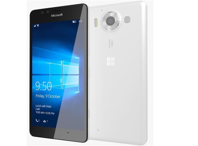 Microsoft Lumia 950 White Dual Sim