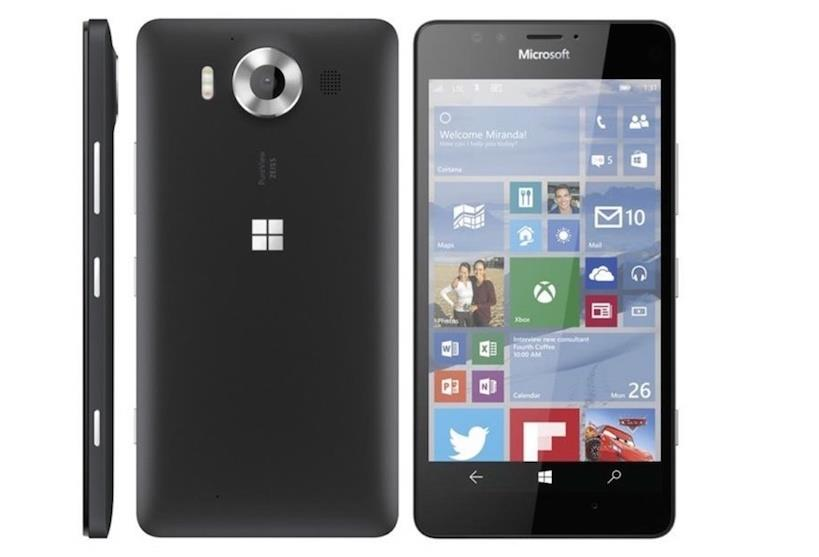 Microsoft Lumia 950 Black Single Sim