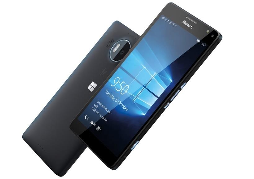 Microsoft Lumia 950 XL Black Single Sim