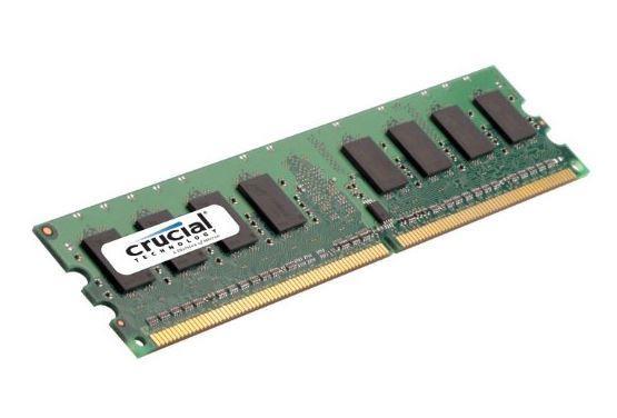 Crucial 4GB 667MHz DDR2 CL5 UDIMM 1.8V