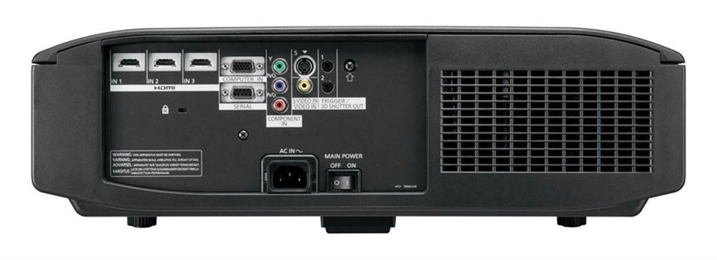 Projector Panasonic PT-AT6000; LCD; Full HD(1080p);2300 ANSI; 500000:1; HDMI,3D