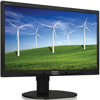 Philips LCD 220B4LPYCB/00 22'' LED,5ms,DVI,DP,USB,repro,1680x1050,HAS,pivot,č