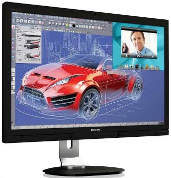 Philips LCD 272P4QPJKEB/00 27'' LED,PLS,6ms,DC20mil:1,DVI,DP,HDMI,USB,300cd/m2