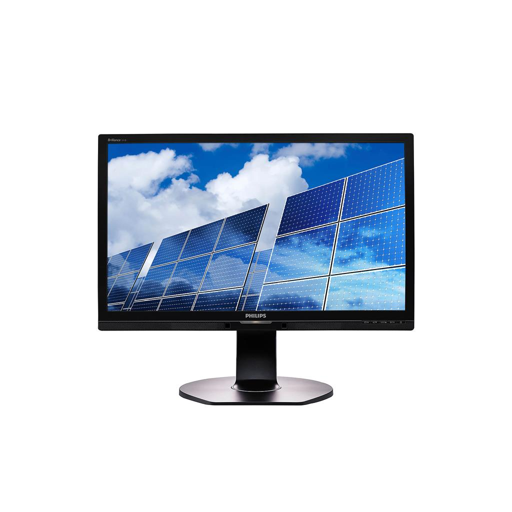 Philips LCD 241B6QPYEB 23.8'' LED FHD, 1920x1080, 5ms, D-Sub, DVI-D, DP, VESA
