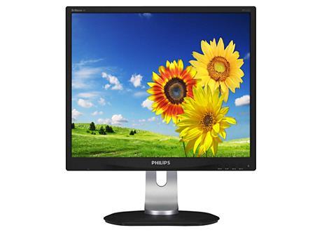 Philips LCD 19S4LSB5/00 19'' LED, IPS, 5:4, 14ms, DP, DVI ,USB, repro,1280x1024