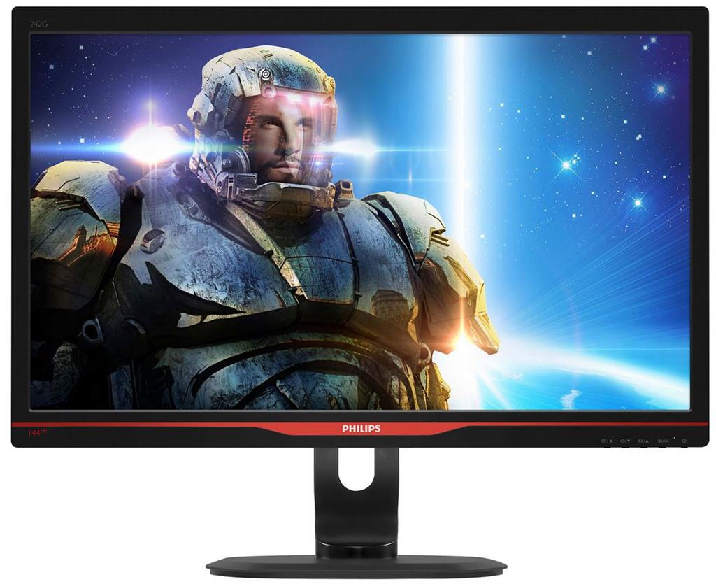 Philips LCD 242G5DJEB/00, 24'' LED, 5ms,DVI,HDMI,DP,USB,MHL,1920x1080,gaming
