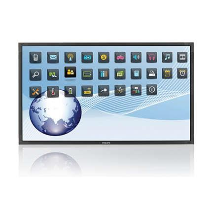 MultiTouchScreen monitor Philips, OPS 42'' BDL4256ET/00, 6 touch points