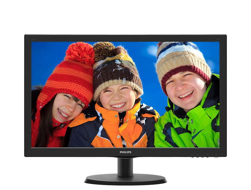 Monitor Philips V-line 223V5LHSB2/00, 21.5inch, HDMI, D-Sub