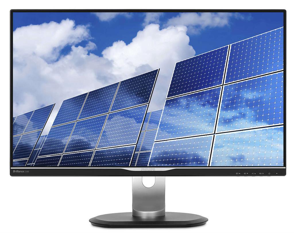 Monitor Philips B-Line 258B6QJEB/00 25inch, IPS, WQHD, D-Sub, DVI, DP