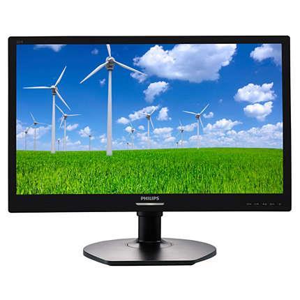 Monitor Philips 221S6LCB 21.5'', D-Sub/DVI