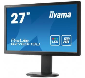 Iiyama LCD-LED Prolite B2780HSU-B1 27'' FHD, 2ms, DVI, HDMI, USB, repro, HAS, č.