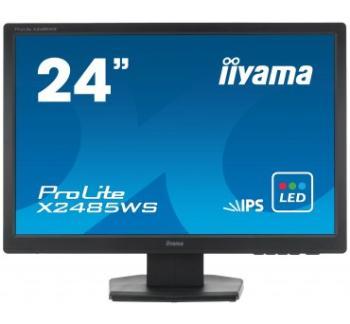 Iiyama LCD-LED Prolite X2485WS-B1 24.1'' WUXGA IPS, 5ms, DVI, DP, repro, č.
