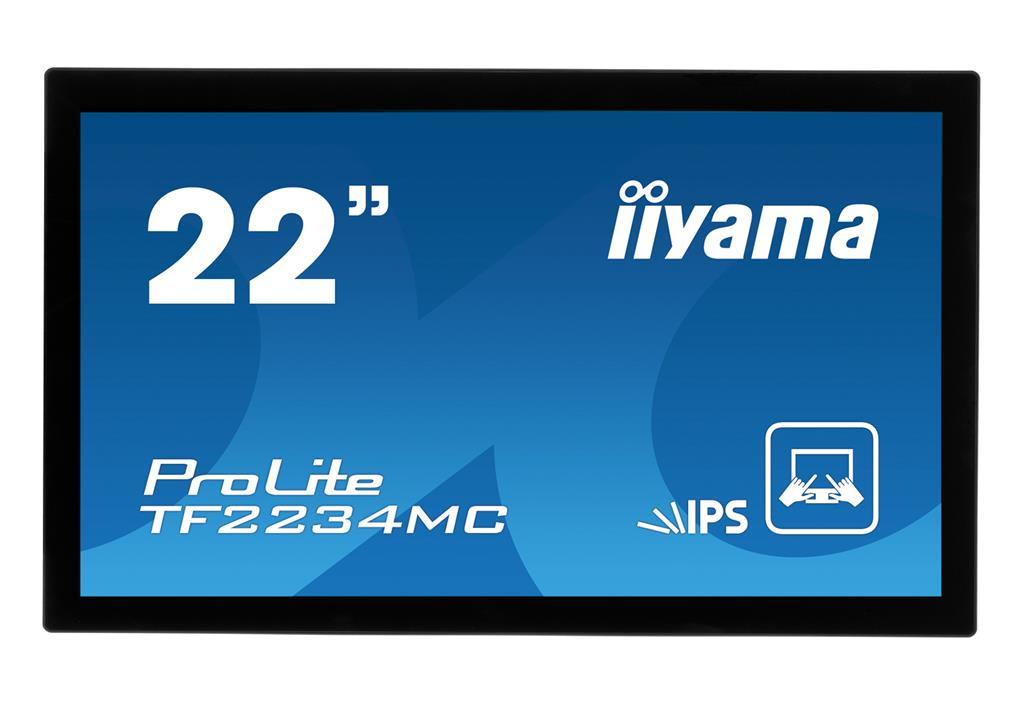 Iiyama dotykový monitor TF2234MC-B1 21.5'', IPS Full HD, 8ms, DVI, černý
