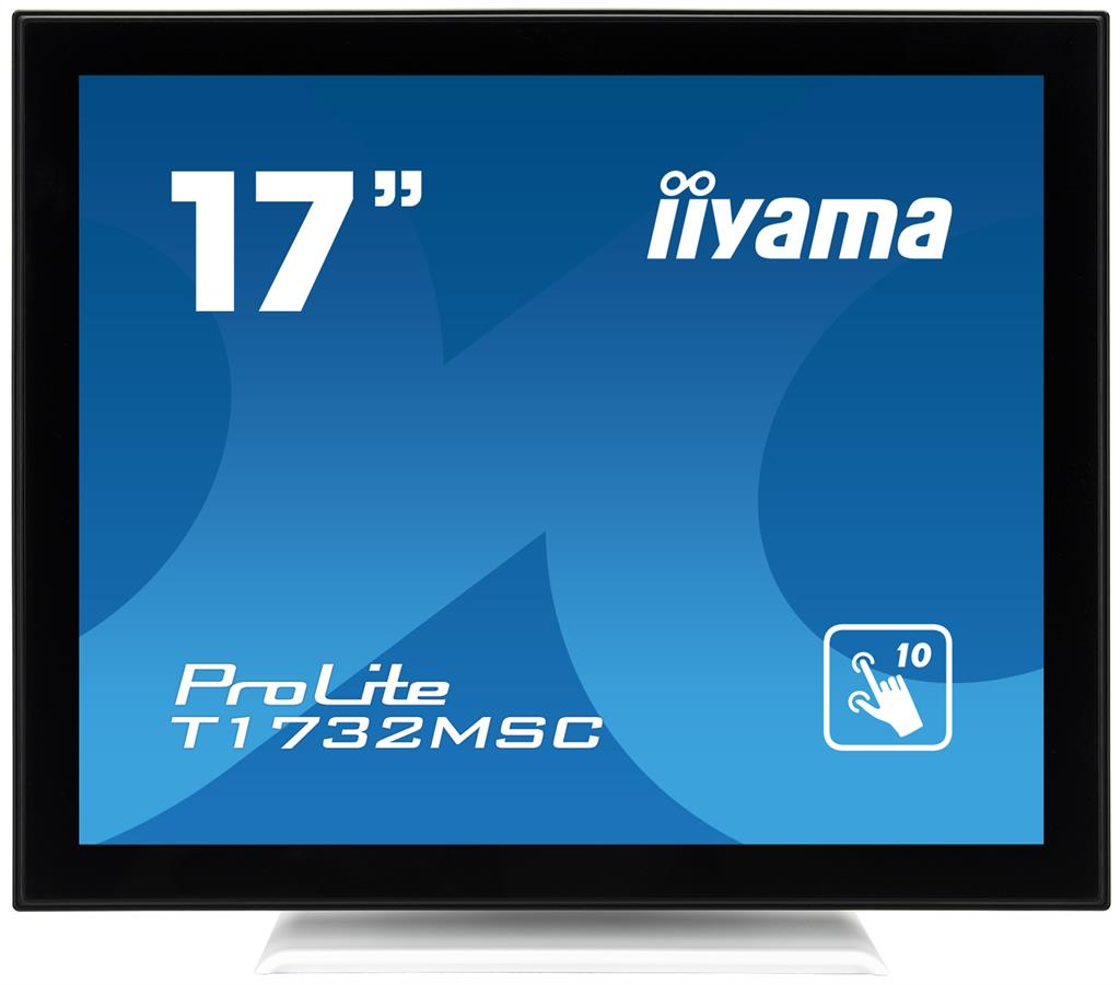 Touchscreen monitor Iiyama T1732MSC-W1X 17'', 5ms, VGA, DVI-D, USB
