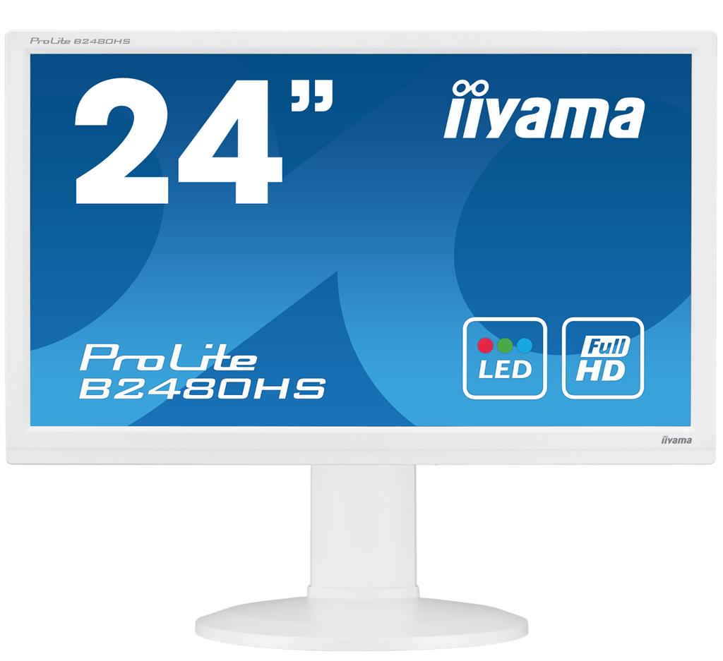 Monitor Iiyama B2480HS-W2 23.6inch, TN, Full HD, HDMI, speakers