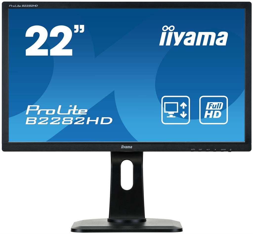 Monitor Iiyama B2282HD 21.5inch, TN, Full HD, D-Sub/DVI-D