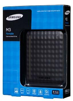 Samsung externí HDD M3 Portable 2.5'' 500GB, USB3, černý