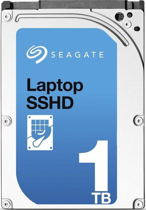 Seagate Laptop SSHD 2.5'' Hybrid HDD 1TB, 5400RPM, SATA3, 64MB cache/32GB SSD