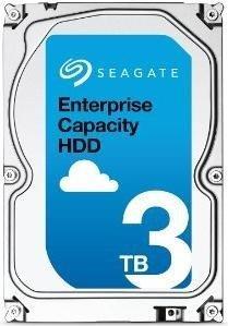 Seagate Enterprise Capacity HDD, 3.5'', 3TB, SATA/600, 7200RPM, 128MB cache