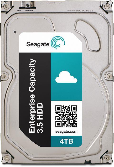 Seagate Enterprise Capacity HDD, 3.5'', 4TB, SATA/600, 7200RPM, 128MB cache