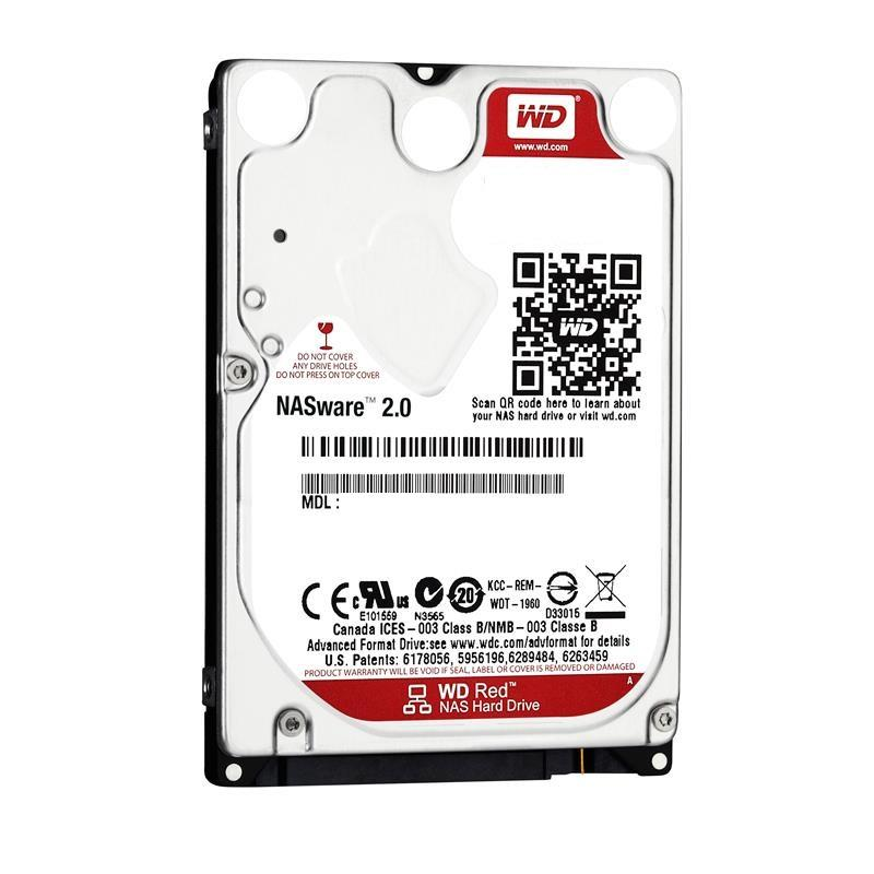 WD Red WD7500BFCX 750GB HDD 2.5'', SATA/600, IntelliPower, 16MB, 24x7, NASware™