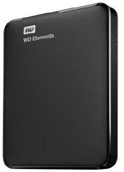 WD Elements Portable 2.5'' externí HDD 500GB, USB 3.0, SmartWare SW, černý