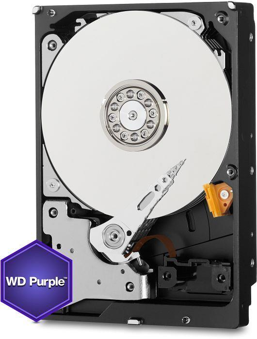 WD Purple WD60PURX 3.5'' HDD 6TB, SATA/600, 64MB cache, pro video surveillance