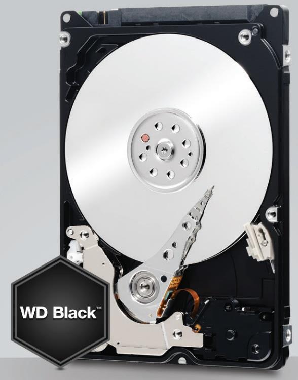 WD Black WD5000LPLX 500GB HDD 2.5'', SATA/600, 7200RPM, 32MB cache