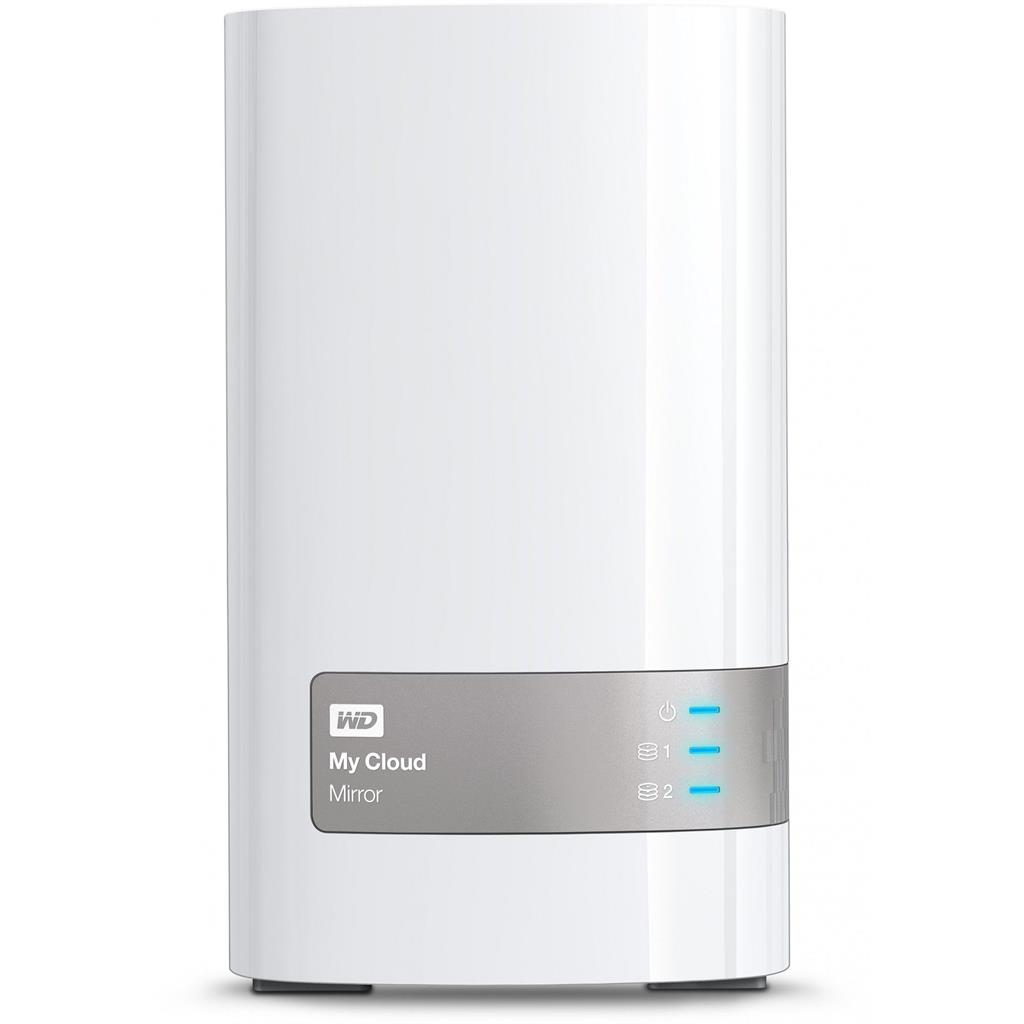 NAS WD My Cloud Mirror 16TB (2x8TB) LAN, RAID