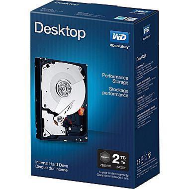 WD DESKTOP PERFORMANCE 2TB 64MB 6Gb/s 7200RPM EMEA