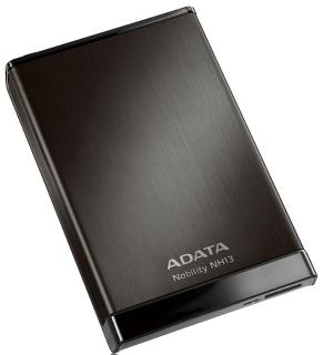 ADATA NH13 1TB 2.5'' externí HDD, USB 3.0, 5400RPM, 107MB/s, hliníkový, černý