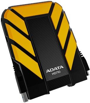 ADATA HD710 DashDrive™ Durable 750GB ext. HDD, USB3.0, water/shock proof, žlutý