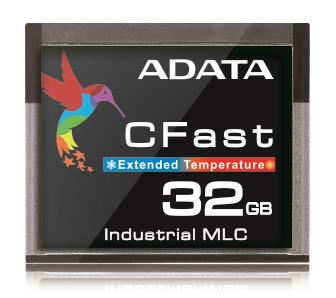 ADATA CFast karta Industrial, MLC, 32GB ,-40 až 85°C (435MB/s / 120MB/s),bulk